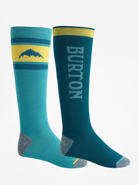 Ponožky Burton Weekend Midweight 2Pk (deep teal)