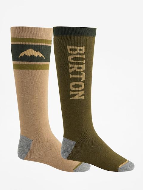 Ponožky Burton Weekend Midweight 2Pk (keef)