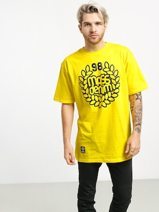 Tričko MassDnm Base (yellow)