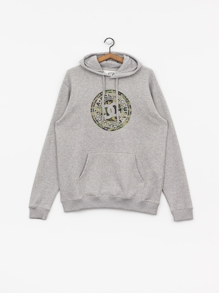 Mikina s kapucí DC Circle Star HD (grey heather/camo)