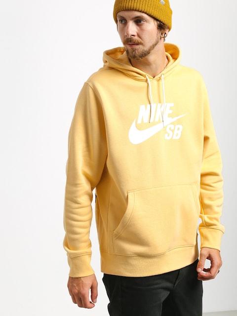 Mikina s kapucí Nike SB Sb Icon HD (celestial gold/summit white)