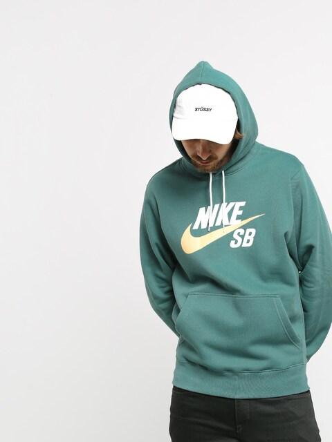 Mikina s kapucí Nike SB Sb Icon HD (bicoastal/celestial gold)
