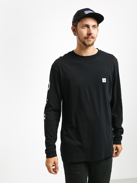 Triko Quiksilver In The Middle (black)