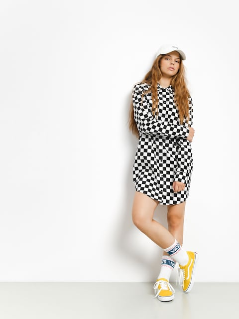 Šaty Vans Broadway II Check Wmn (checkerboard)