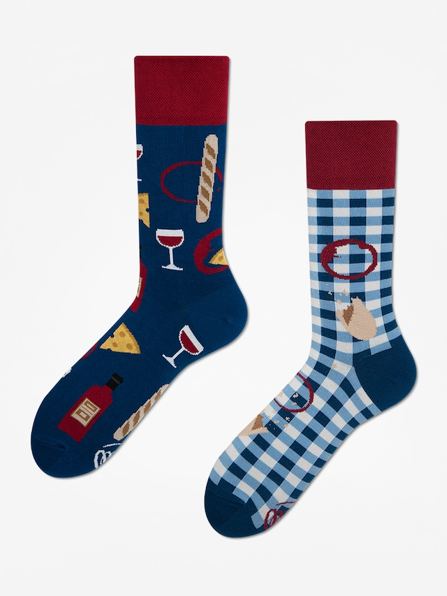tanie z rabatem nowy przyjazd sklep internetowy Ponožky Many Mornings The Book Story (navy/red)