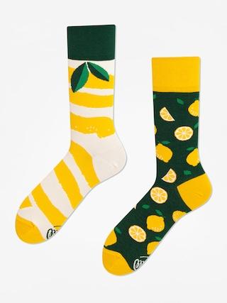 Ponožky Many Mornings The Lemons (yellow/green)
