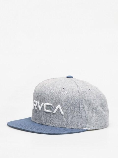 Kšiltovka  RVCA Rvca Twill Snapback ZD (grey blue)