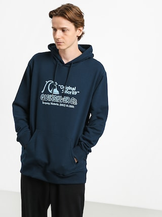 Mikina s kapucu00ed Quiksilver Nelson Sun Screen Fleece HD (moonlit ocean)