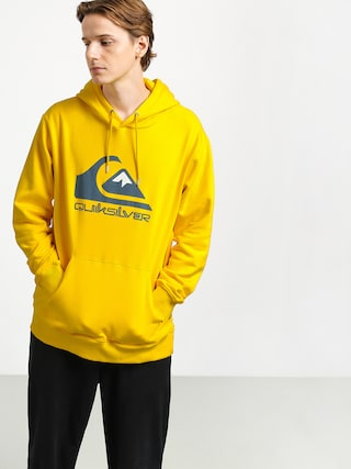 Mikina s kapucu00ed Quiksilver Omni Logo Screen Fleece HD (sulphur)