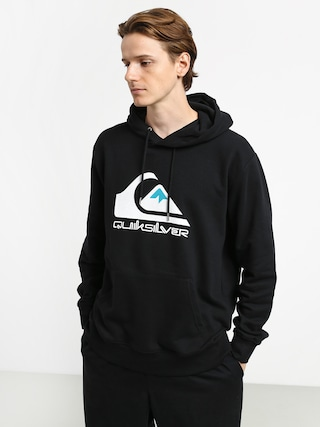 Mikina s kapucu00ed Quiksilver Omni Logo Screen Fleece HD (black)