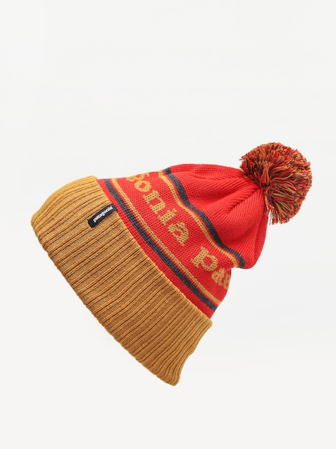 Čepice Patagonia Powder Town Beanie (park stripe/hammonds gold)