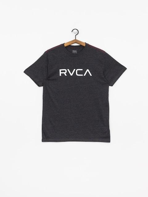 Tričko RVCA Big Rvca Vintage (charcoal heathe)