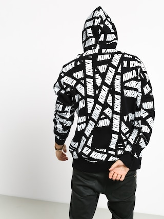 Mikina s kapucí Koka Tape HD (black)