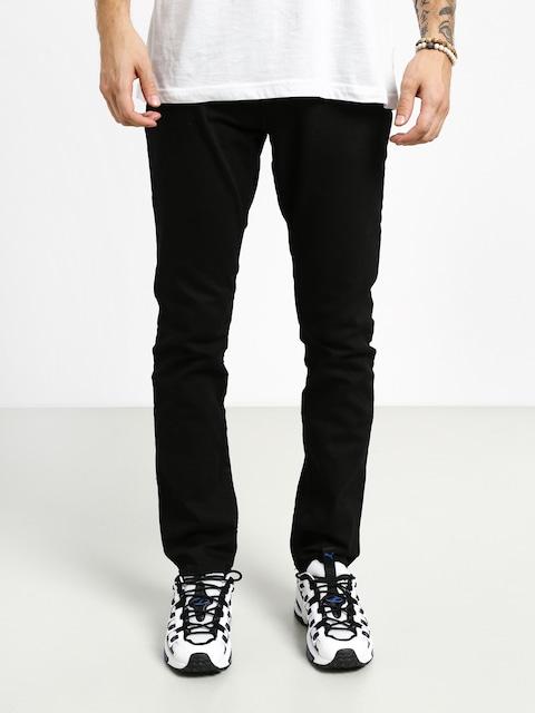 Kalhoty DC Worker Straight (black rinse)
