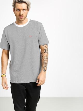 Tričko Koka Stripes Label (black)