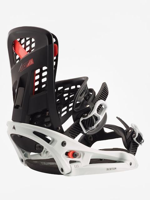 Snowboardová vázání Burton Genesis Est (black/frost)