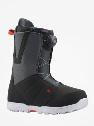 Boty na snowboard Burton Moto Boa (gray/red)