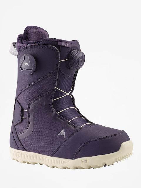 Boty na snowboard Burton Felix Boa Wmn (purple velvet)