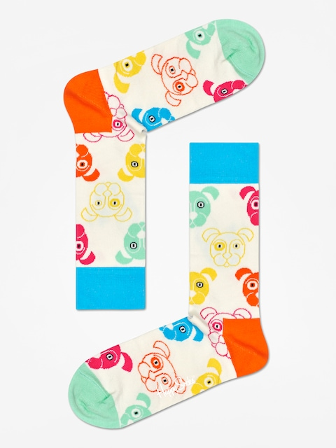 Ponožky Happy Socks Dog (white/multi)