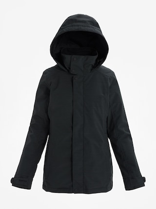 Snowboardovu00e1 bunda Burton Jet Set Wmn (true black heather)
