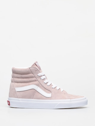 Boty Vans Sk8 Hi (pig suede/shadow gray/true white)