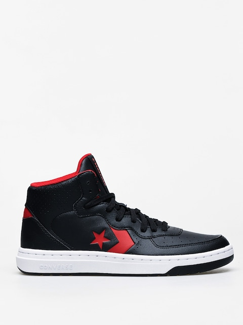 Boty Converse Rival Mid (black/enamel red)