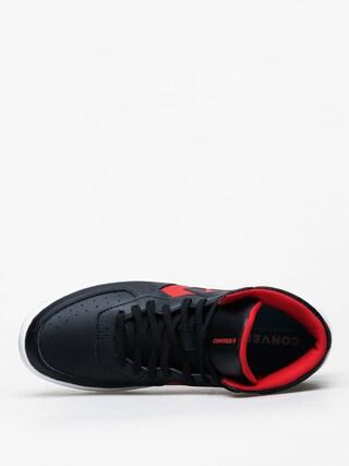 Boty Converse Rival Mid (black/enamel red)