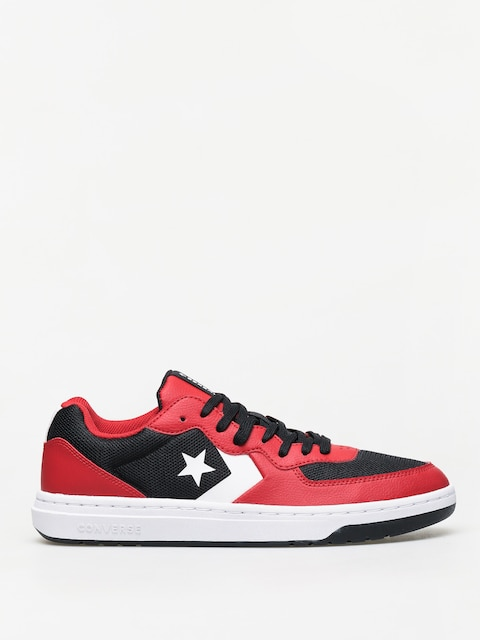 Boty Converse Rival Ox (black/red/white)