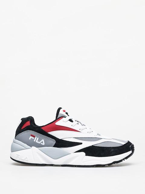 Boty Fila V94M Low (black/white/fila red)