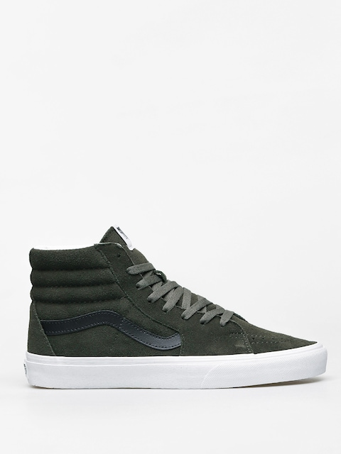 Boty Vans Sk8 Hi (forest night/true white)