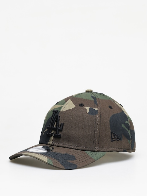 Kšiltovka  New Era League Essential Los Angeles Dodgers ZD (woodland camo)