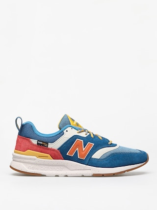 Boty New Balance 997 (blue/orange)