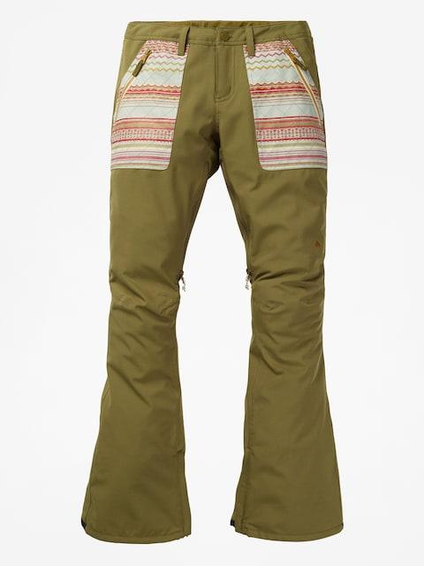 Snowboardové kalhoty  Burton Vida Wmn (martini olive)