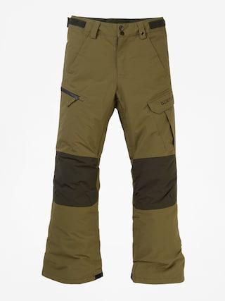 Snowboardovu00e9 kalhoty  Burton Exile Cargo (martini olive)