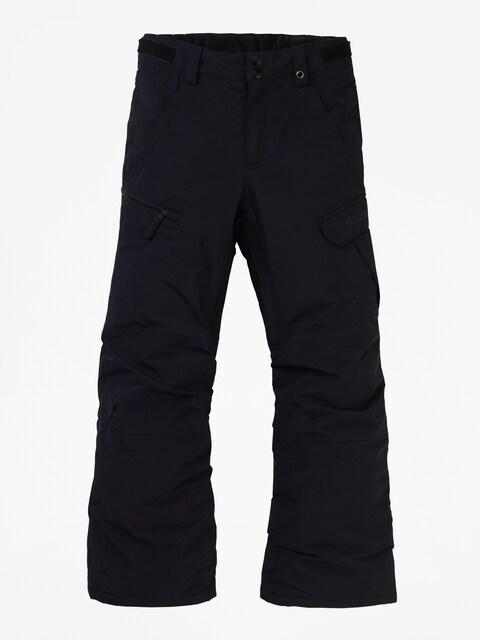 Snowboardové kalhoty  Burton Exile Cargo (true black)