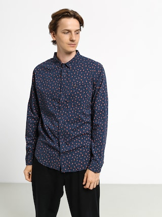 Kou0161ile RVCA Prelude Floral Ls (moody blue)