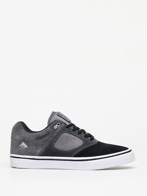Boty Emerica Reynolds 3 G6 Vulc (black/dark grey/grey)