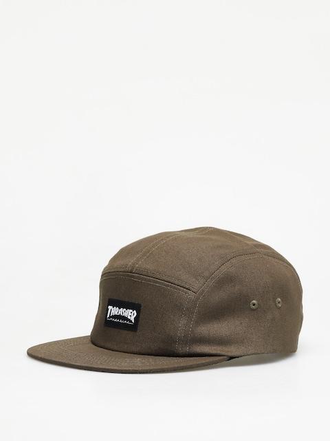 Kšiltovka  Thrasher 5 Panel Hat ZD (army green)