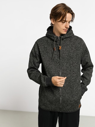Mikina s kapucu00ed Quiksilver Keller ZHD (dark grey heather)
