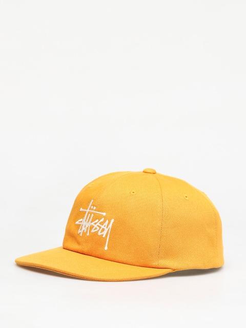 Kšiltovka  Stussy Big Logo Low Pro ZD (gold)