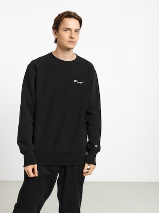 Mikina Champion Premium Reverse Weave Crewneck Left Chest Logo (nbk)
