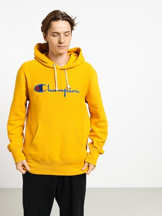 Mikina s kapucí Champion Premium Reverse Weave Hooded Big Logo HD (old)