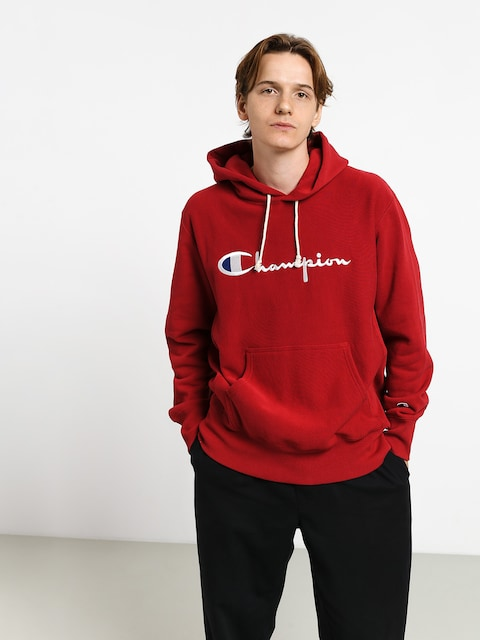 Mikina s kapucí Champion Premium Reverse Weave Hooded Big Logo HD