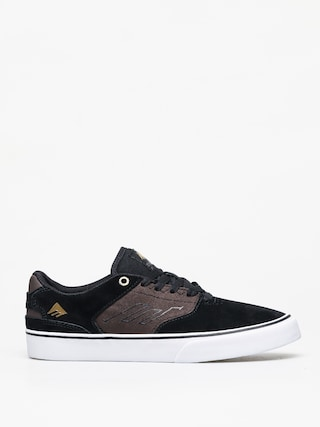 Boty Emerica The Reynolds Low Vulc (black/brown/grey)