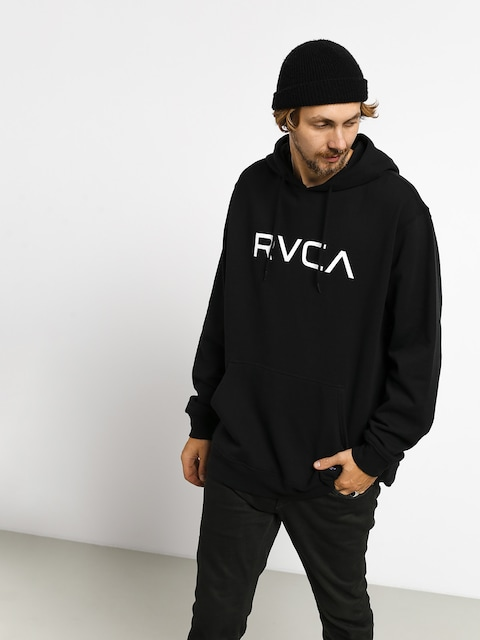 Mikina s kapucí RVCA Big Rvca Rcy HD (black)