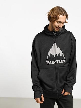 Mikina s kapucu00ed Burton Oak ZHD (mtn true blk htr)