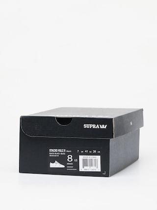 Supra Boty Stacks Vulc II (black/black black)