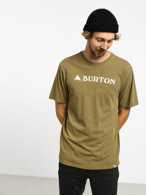 Tričko Burton Horizontal Mtn (martini olive)