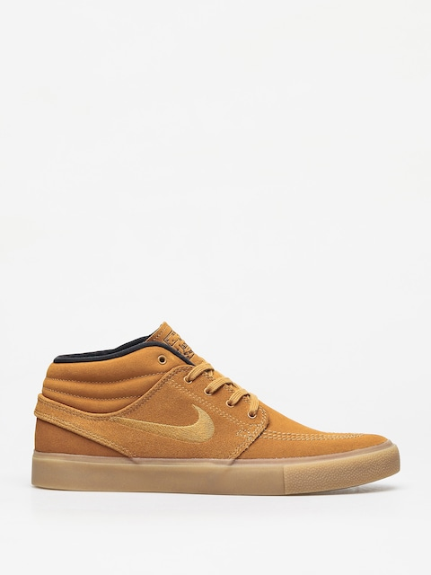 Boty Nike SB Zoom Janoski Mid Rm (wheat/wheat black gum light brown)