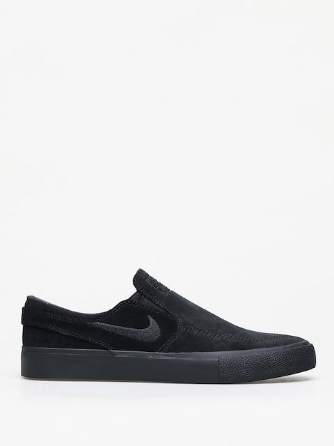 Boty Nike SB Zoom Janoski Slip Rm (black/black black black)